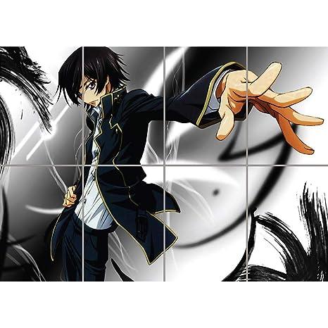 Code Geass Lelouch Zero Anime Manga Giant Poster Wall Art Picture G828