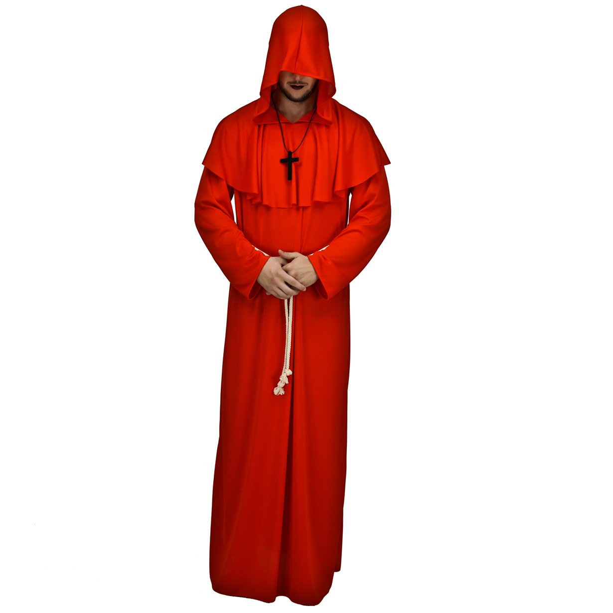 Amazon.com: flatwhite para hombre midievil monje disfraz ...