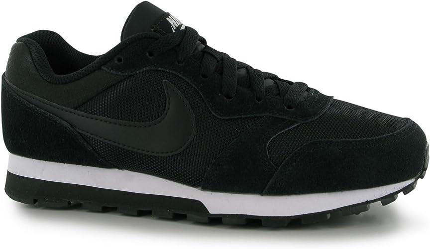 Nike MD Runner Baskets pour Femme Noir/Blanc décontracté ...