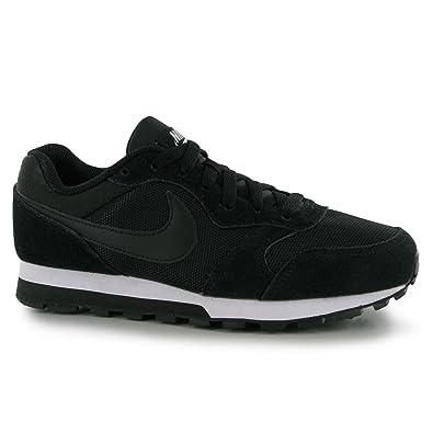 designer fashion 9c3a1 54a21 Nike MD Runner Baskets pour Femme Noir Blanc décontracté Mode Sneakers  Chaussures, Noir