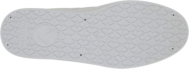 Victoria Blucher Lona Plataforma, Baskets Basses Mixte Adulte Blanc 20 Blanco