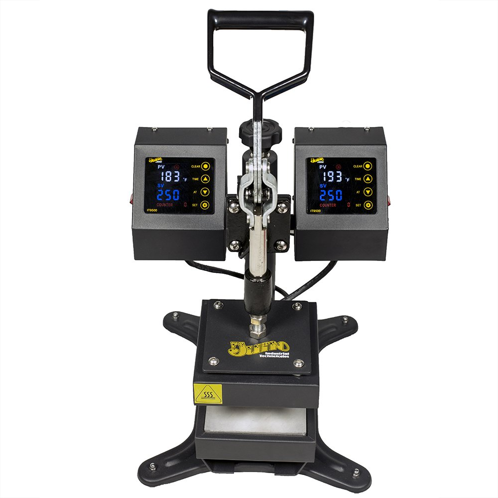 5'' x 5'' Juno Rosin Heat Press Machine, Dual Platen Heating