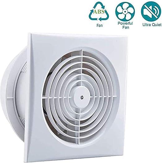 6 Pulgadas Pared De La Ventana Extintor, Silencioso Y Potente Delgado Grupo Ventilador para Baño, Bajo Consumo De Energía Ventilador De Ventilación para Pipe WC: Amazon.es: Hogar