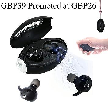 Daioolor ZR100 - Auriculares inalámbricos Deportivos para Samsung Apple (Bluetooth, con Control de micrófono): Amazon.es: Electrónica
