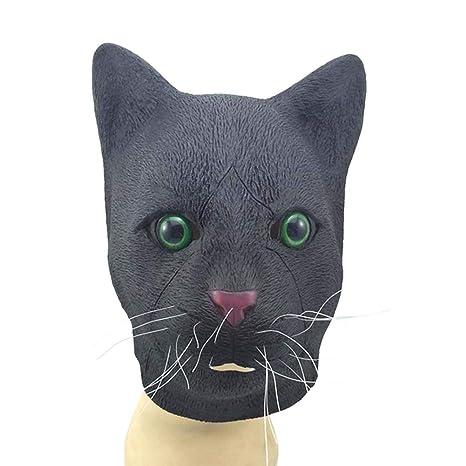 Mascarilla de Halloween para gatos, máscara de esparcimiento para Halloween, carnaval, decoración de
