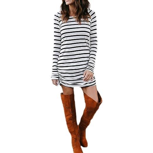 5a0184e1a563 Yutao Striped Dress