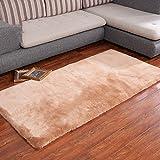 Decorative rugs,Xiandai carpe Living room Bedroom bedside Carpet Bay window mat-E 39x79inch(100x200cm)