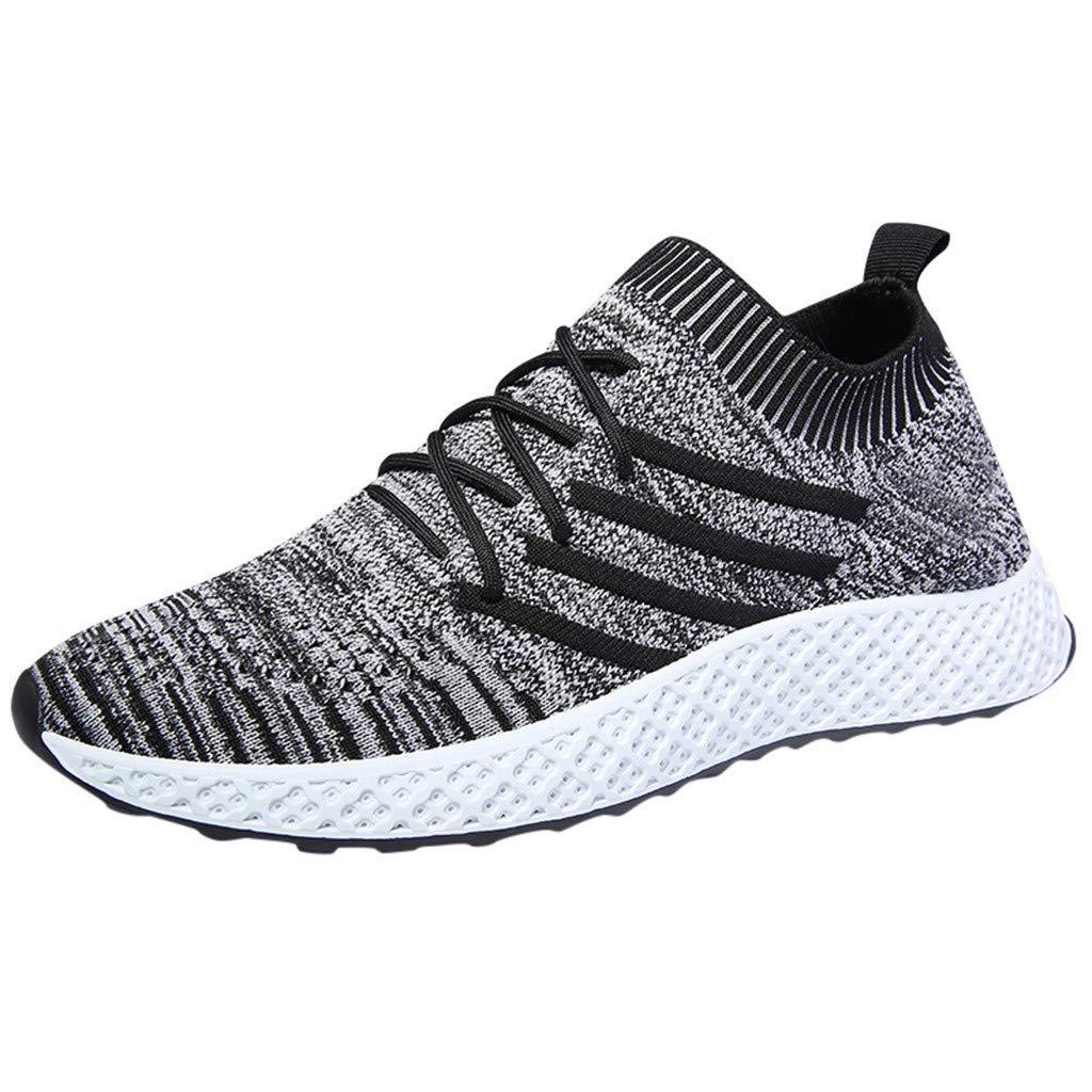 LUNDNEY Homme Baskets Mode Classics Lacet Sneakers Basses Fitness Sport Chaussures De Gymnastique Chaussons Aquatiques Chaussures Plage Chaussures Piscine Chaussures d'eau Chaussures