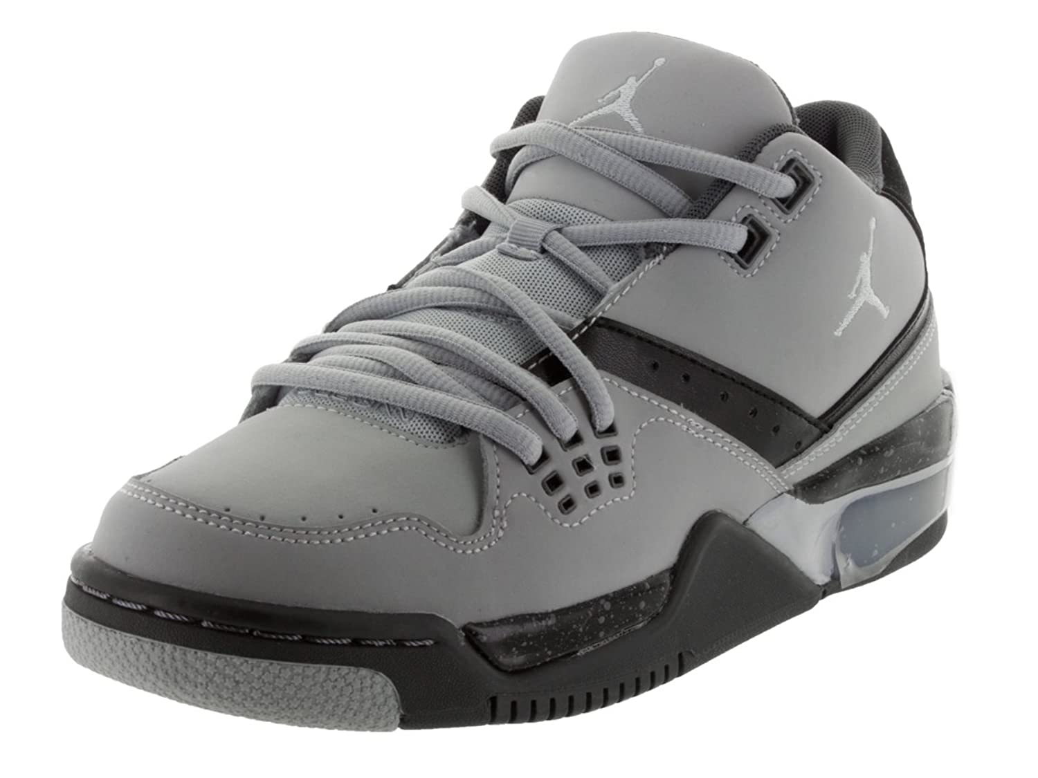Amazon.com | Jordan Nike Kids Flight 23 BG Wolf Grey/PR Pltnm/Blck/CL Gry  Basketball Shoe 4.5 Kids US | Basketball