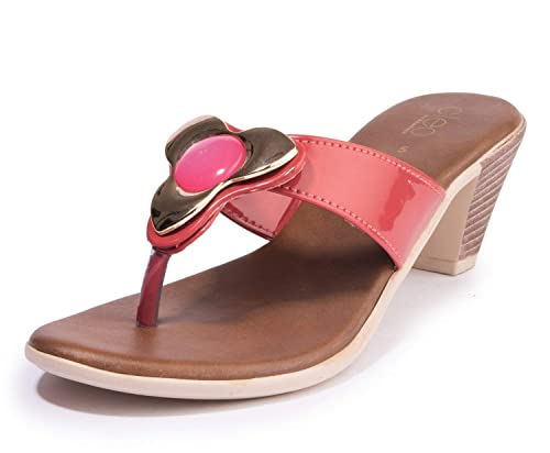 f3cb6a3391c Khadims Cleo from Women Casual Heel Sandal  Amazon.in  Shoes   Handbags