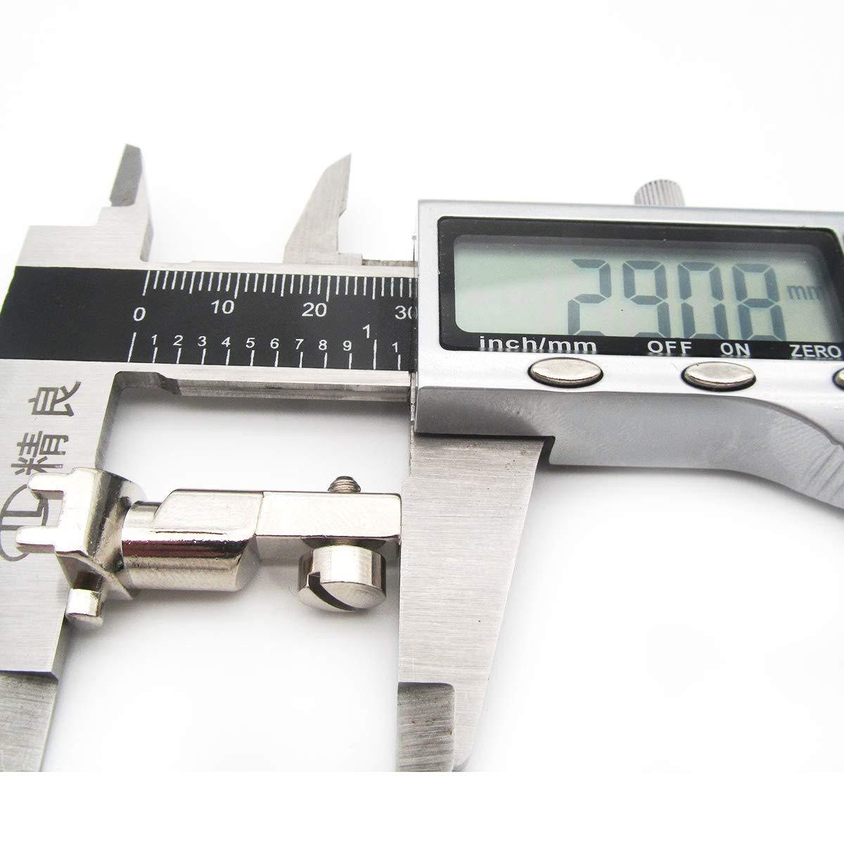 1 Set #CY-7307L+001947.70.00 Niedriger Schaft Kunpen 0,8 cm Saumfu/ß-Fit f/ür Bernina Old Style N/ähmaschine