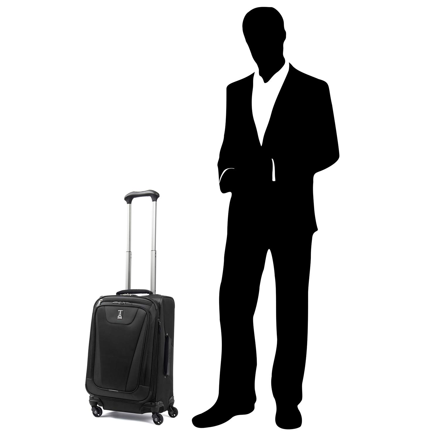Travelpro Maxlite 4 Expandable 21 Inch Spinner Suitcase, Black by Travelpro (Image #6)