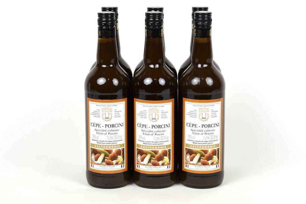 Distillerie du Perigord Elixir of Cepe Porcini 1L (33.3oz) Case of 6 Units- Wholesale by Distillerie Du Perigord
