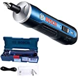 Bosch Electric Screwdriver, Autoday 3.6V Smart 6 Modes Adjustable Torques Cordless Rechargeable Screwdriver Tool Kits
