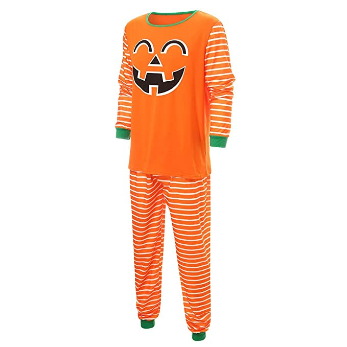 cinnamou Conjunto De Pijamas De Halloween Pajamas Familiar Tops ...