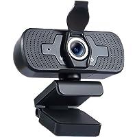 muson [2021 Nuevo Modelo] 1080P HD cámara Web con micrófono, computadora o portátil cámara Web con Cubierta de…