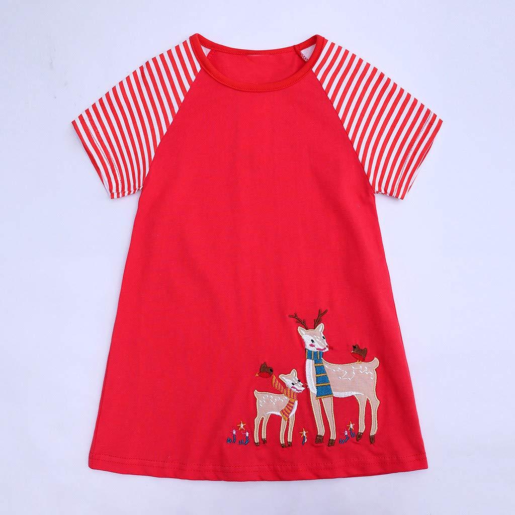 Ofertas de Pascua. Vestido de Manga Corta para niñas y bebés ...