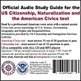 Civics test audio study guide for the