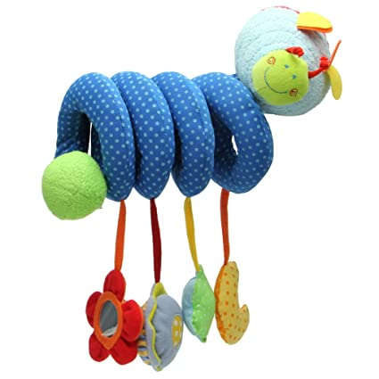 Activity Spiral Stroller Car Seat Travel Lathe Hanging Toys Baby Rattle Toy Gift