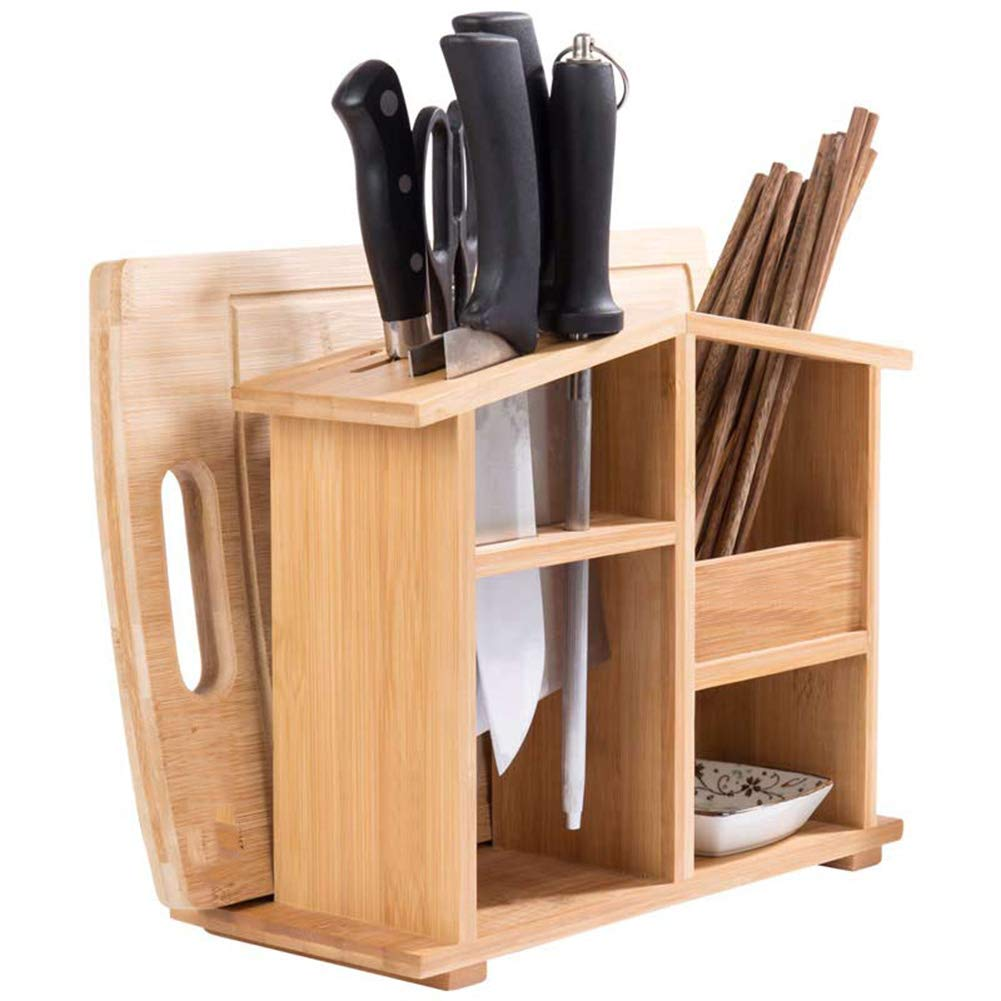 Shelf Storage Racks Cupboard Organizers Cutlery Racks Bamboo Kitchen Multifunction Shelf Tool Holder Storage Rack Multifunction ZHAOYONGLI by ZHAOYONGLI-shounajia (Image #3)