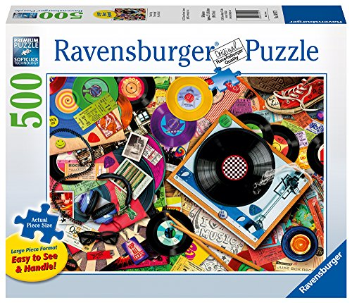 Viva Vinyl - Ravensburger Viva Le Vinyl Puzzle (500 Piece), Large