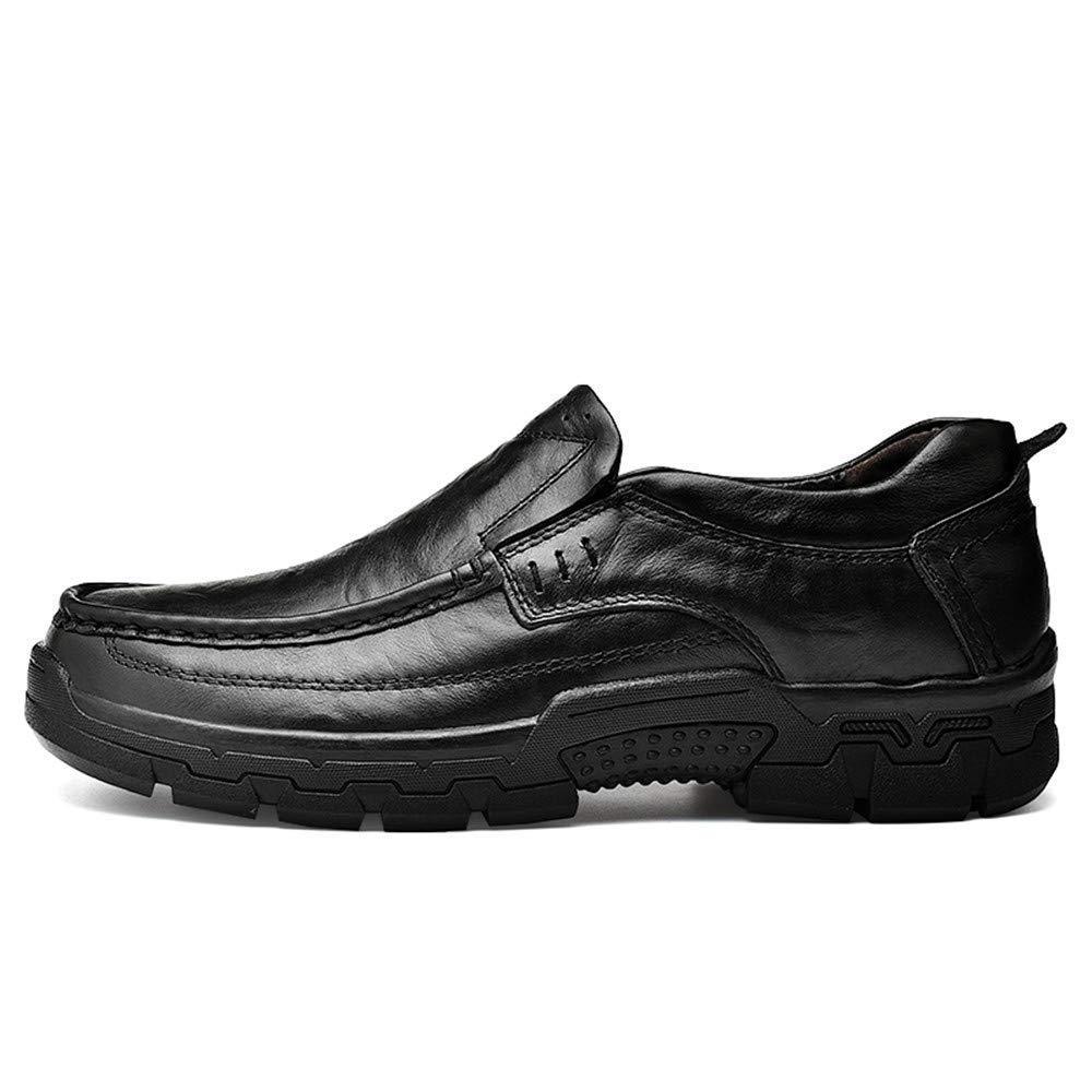 2018 Oxfords-Schuhe der Männer im Freien, moderner Entwurfs-Beleg Entwurfs-Beleg Entwurfs-Beleg auf Schuhen (Farbe   Schwarz, Größe   43 EU) (Farbe   Wie Gezeigt, Größe   Einheitsgröße) 67d4b9