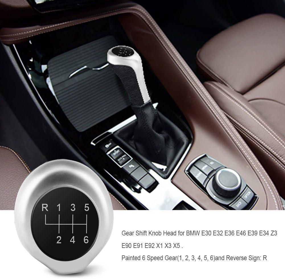 5 Speed Gear Shift Knob For BMW 3 5 6 Series E30 E34 E46 E90 E91 E36 E39 X5 Z3 !