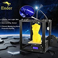 NEW!!CREALITY 3D Ender-4 Auto Leveling Laser Core-XY 3D printer V-Slot Frame 3D Printer Kit Filament Monitoring Alarm Potection from Shenzhen CREALITY 3D
