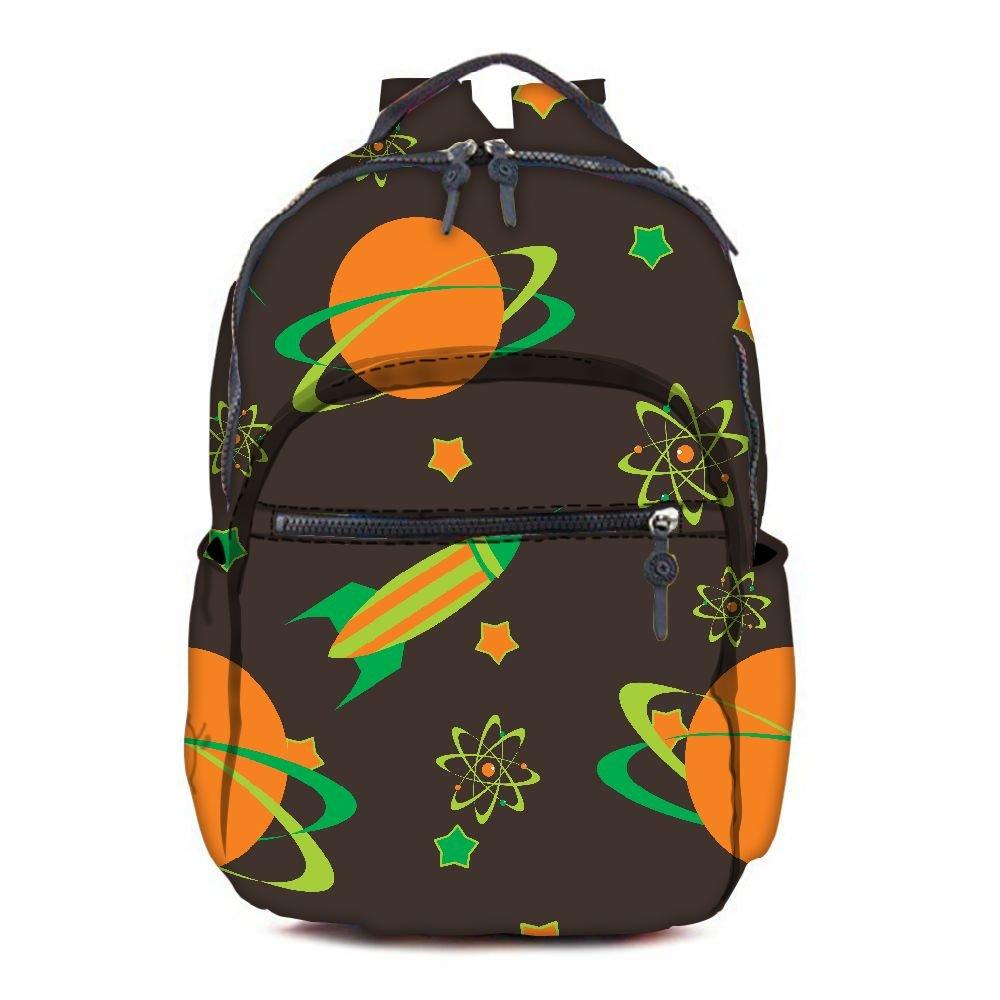Snoogg Snoogg Snoogg Bolso escolar, multicolor (multicolor) - RPC-3799-AOPBKPAK d91748