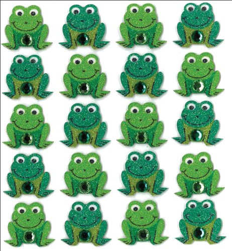 (Jolee's Boutique Repeat Sticker Frogs (50-20747))