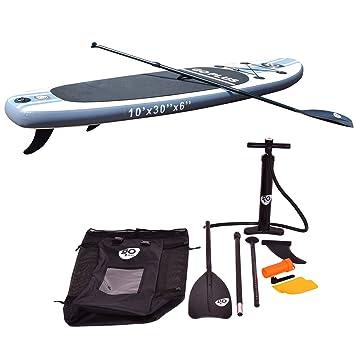 vengaconmigo Tabla de Surf Tabla de Paddle Tablas Hinchables de Paddle Surf Tabla de Surf Inflable para Adultos Incluida Remo Ajustable Bomba de Aire ...