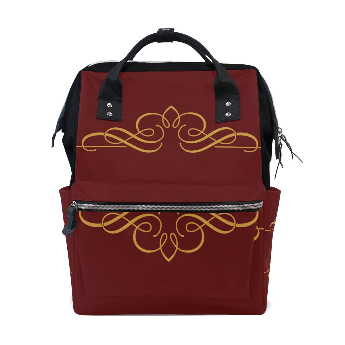 Backpack School Bag Valentine Day Wedding Canvas Travel Doctor Style Daypack