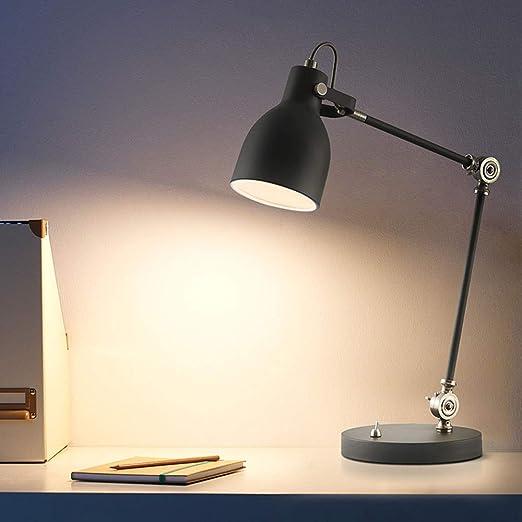 LDDEND Personalidad Lectura simple Lámpara de mesa-Escritorio ...