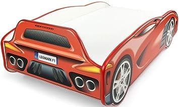 Letto Di Cars.Letto Letti Per Bambini In Legno Materasso Dimensioni 140x70 Sport Car Auto Rosso Da Corsa Letto Singolo A Forma Di Macchina Cars Camera Per Bambini