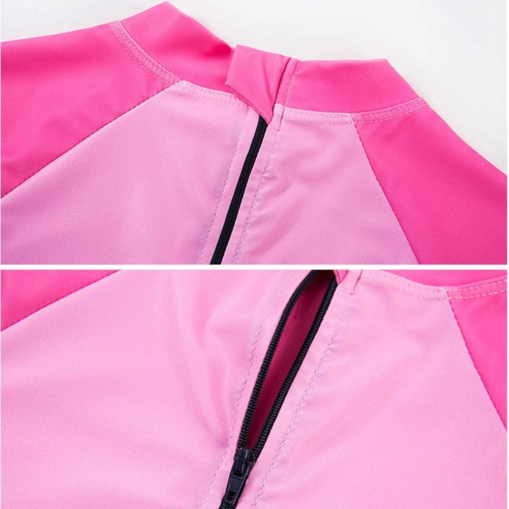 0-6 Years taitaibaby Baby Girl One-Piece Rash Guard Swimsuit Unicorn Toddler Swimwear with Hat UPF 50+