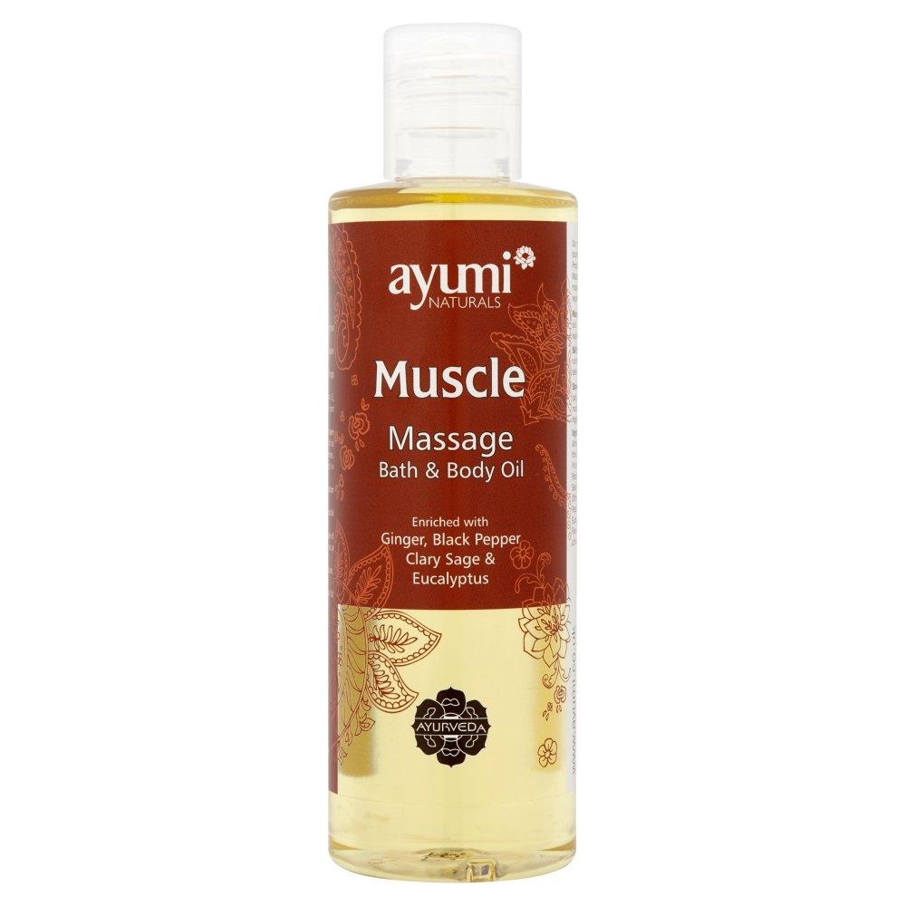 Ayumi Muscle Massage Bath and Body Oil, 250 ml 105275262