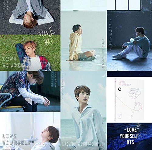 Price comparison product image BTS LOVE YOURSELF Her 5th Mini Album BANGTAN BOYS [O Ver.] CD + Official Poster + Photo Book + Mini Book + Photo Card + Gift