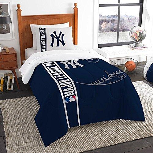 Northwest New York Yankees MLB Twin Comforter Set
