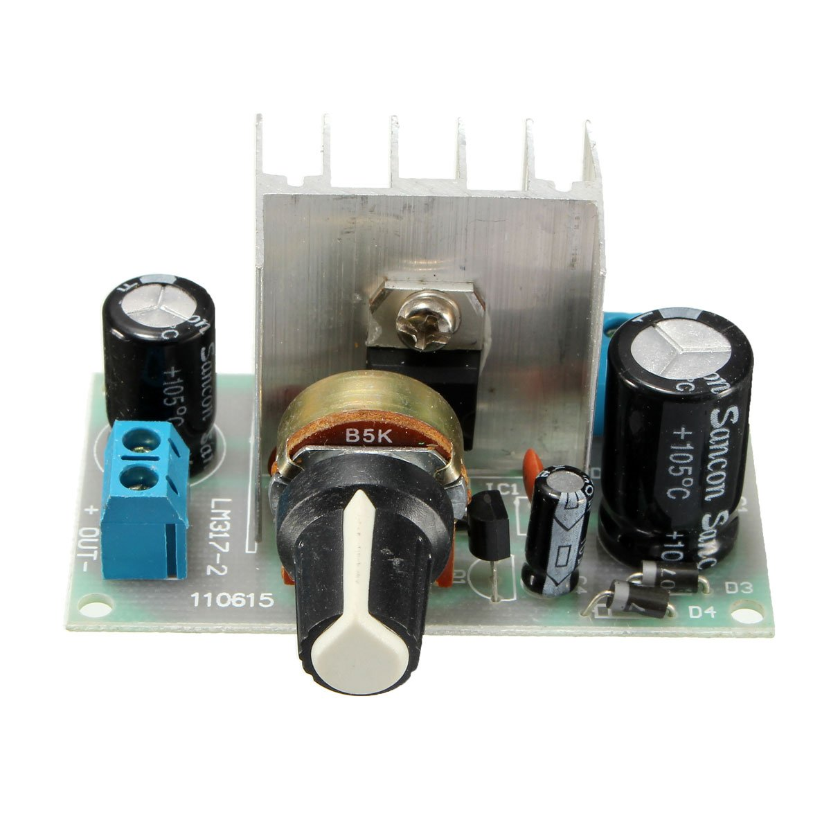 Quickbuying 1pcs Lm317 Ac Dc To Adjustable Voltage Regulator Step Schematic Down Power Supply