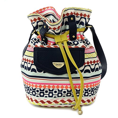 OILILY TASCHE - Drawstring Bag - Latte