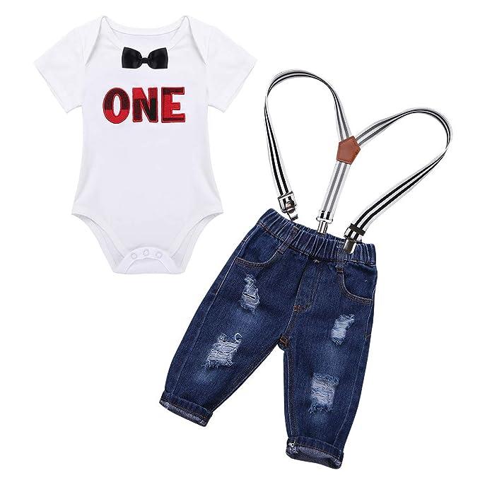 Alvivi Unisex Bebé Recién Nacido Peleles de Manga Corta y Pantalones Cortos de Peto Dos Piezas