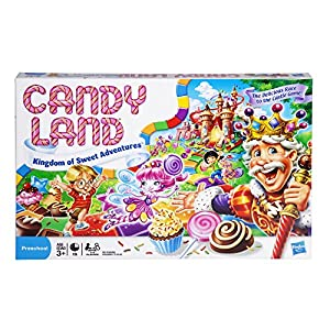 """If you loved playing the Candy Land board game when you were a child, you can share the experience with your loved ones and start down the """"magical"""" road to sweet surprises! This adorable version of the classic Candy Land game features gingerbread me..."""