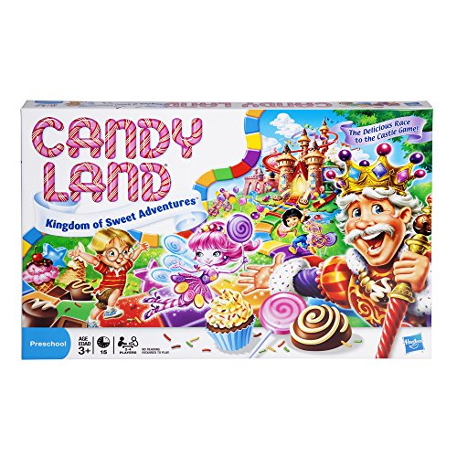 Hasbro 4700 Candy Land Kingdom of Sweet Adventures Board Game for Kids Ages 3 and Up (Amazon Exclusive), Red