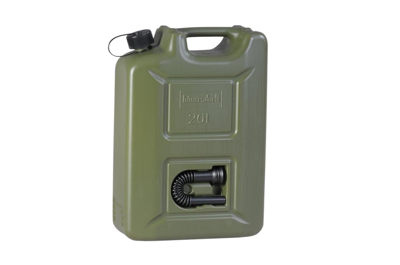 PEAD accesorios negros UN 20/L Rojo H/ünersdorff Bid/ón para carburante PROFI homologaci/ón UN