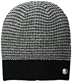 Marc by Marc Jacobs Women's Banner Gingham Merino Wool Hat, Black/Multi, One Size