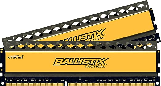 91 opinioni per Ballistix Tactical 8GB Kit (4GBx2) DDR3 2133 MT/s (PC3-17000) UDIMM 240-Pin-