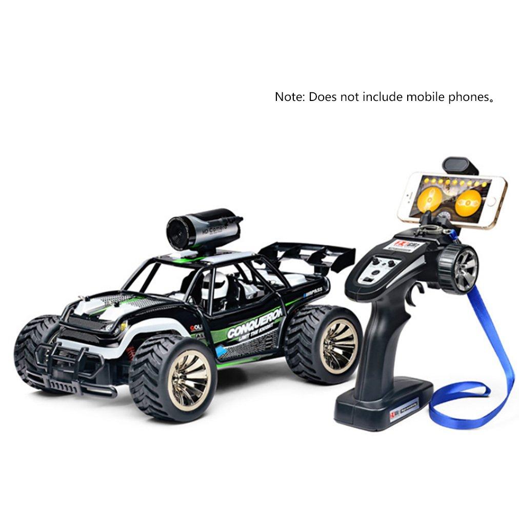 CFZHANG Elektro RC Auto Offroad Fernbedienung WIFI Kamera 1: 16 2,4G Fernbedienung Funksteuerung Für Kinder Und Erwachsene