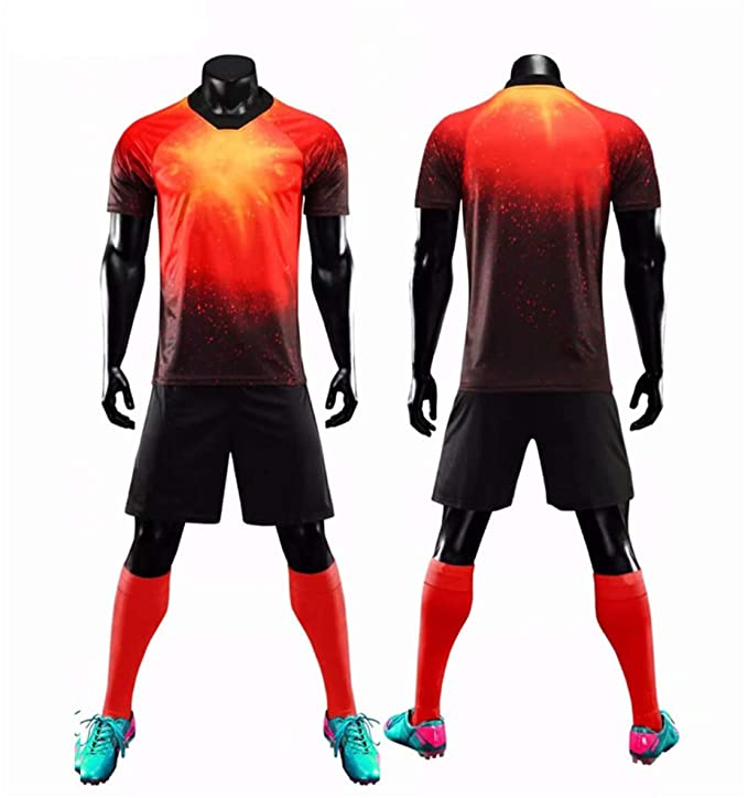 RYTUUFKJGS Camisetas y Pantalones Cortos de fútbol Personalizados ...