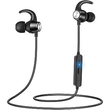 Gritin auriculares Bluetooth, auriculares deportivos inalámbricos ...