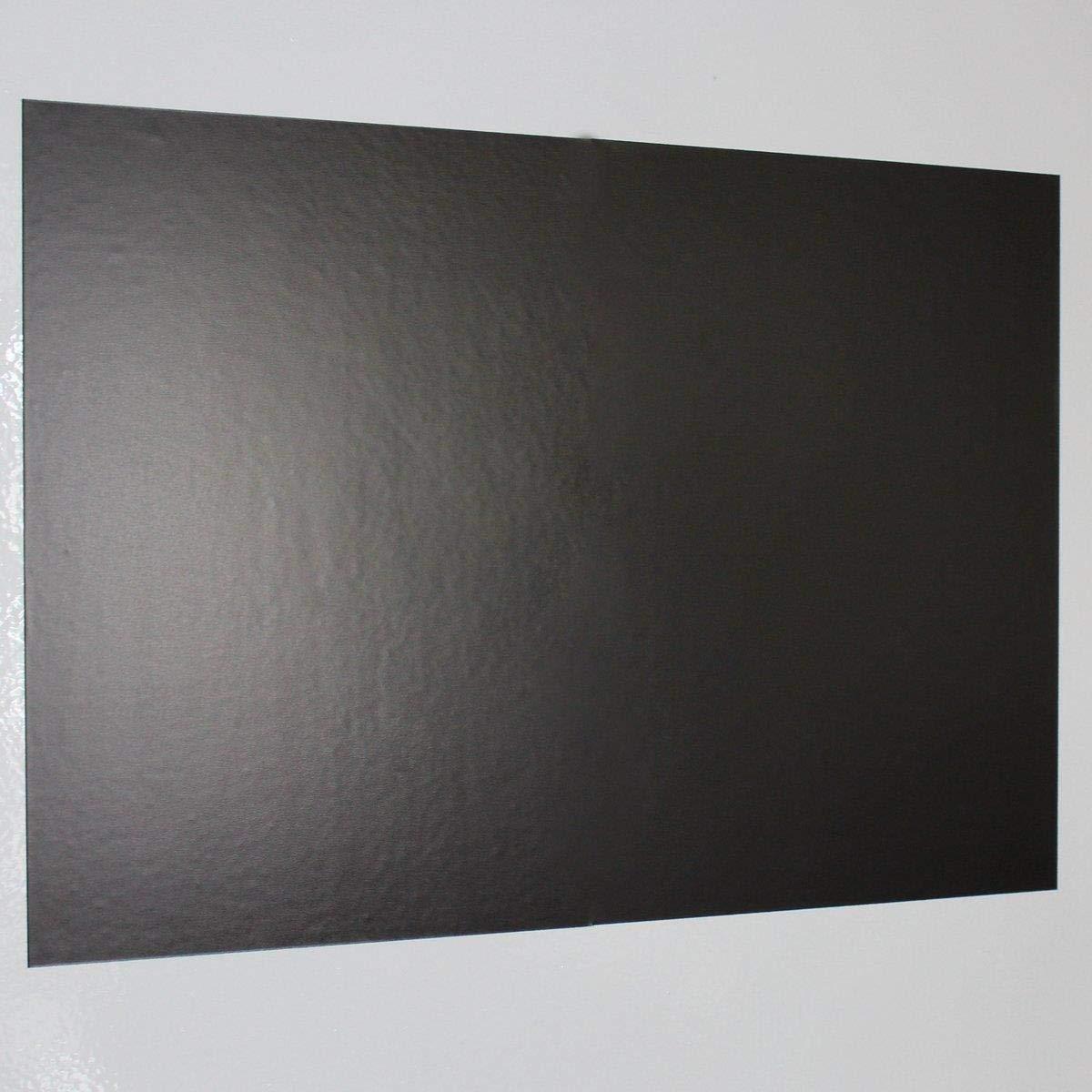 MAGSTICK® lamina ferrosa autoadesiva, 1pz. Formato DIN A3, parte adesiva non rivestita, fondo adesivo per potenti magneti, lamina ferrosa easydruck24de